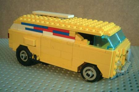 Lego American Muscle Cars By Finnish Lego Fan Gadgetsin