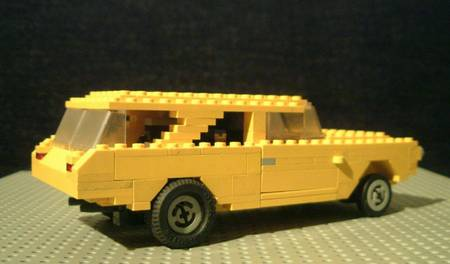 Lego American Muscle Cars By Finnish Lego Fan Gadgetsin