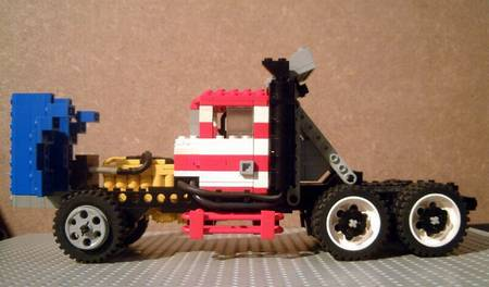 LEGO American muscle cars