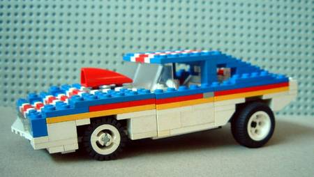 Pictures Of Cool Cars >> LEGO American muscle cars by Finnish LEGO fan | Gadgetsin