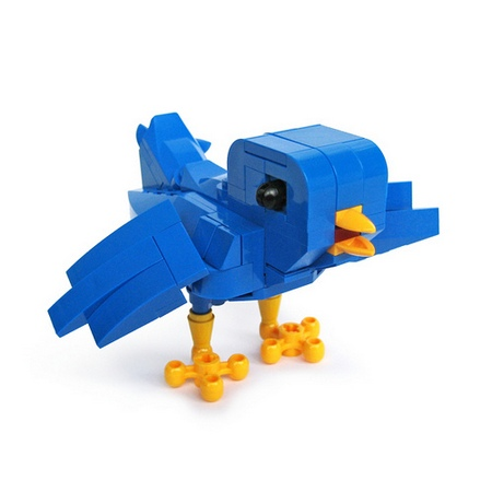 LEGO Twitter Bird for Tweeple and LEGOer