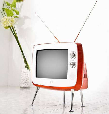 Sweet and retro LG Classic TV