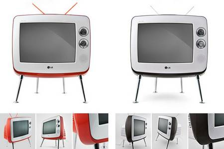 Sweet and retro Classic TV by LG