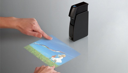 light touch holographic laser projection technology
