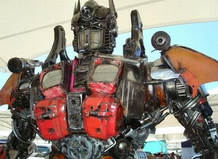 Optimus Prime in Taiwan
