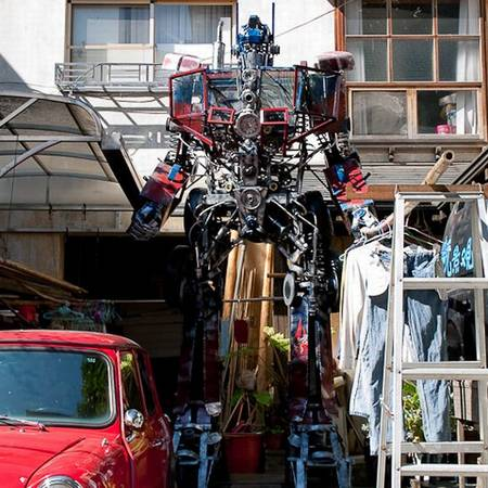 Optimus Prime in Taiwan
