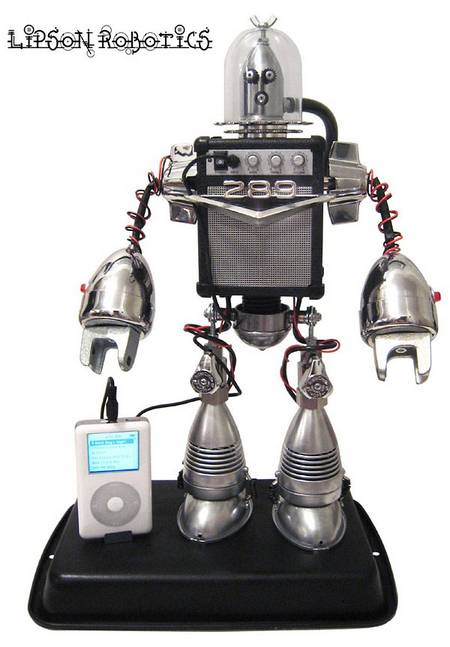 Speaker Bot A Cool Robot For Playing Your Mp3 Player