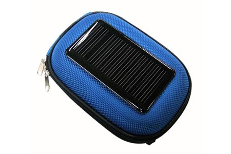 Solar power charger case for some mobile devices