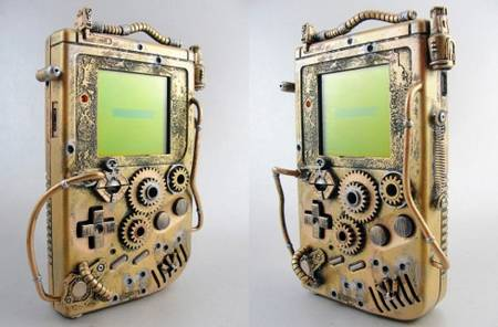 Steampunk Game Boy by Thretris