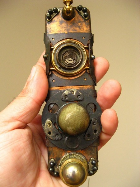 Amazing Steampunk Mobile Phone