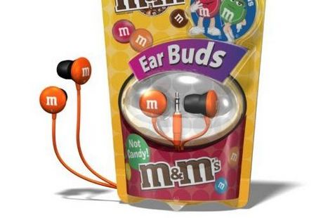 Delicious M&M Earphones