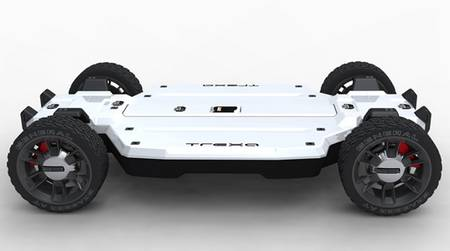 Trexa EV Platform let you DIY electric vehicle