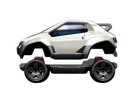 Trexa EV Platform let you DIY electric vehicle