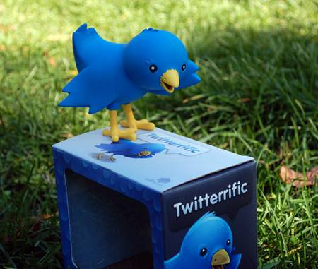 Twitterrific Twitter bird figures for all tweeple
