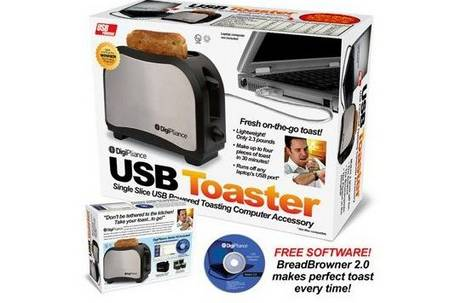 Make Toaster With USB of Your Laptop