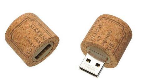 Wine Cork Plug USB Flash Drive