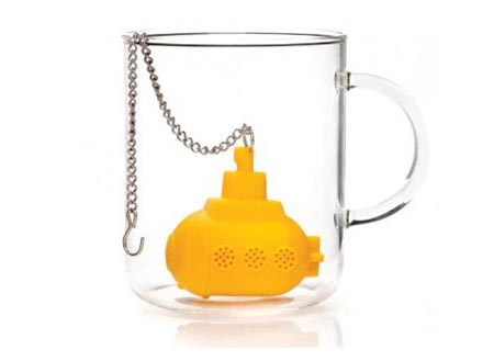 Yellow Submarine Tea Infuser