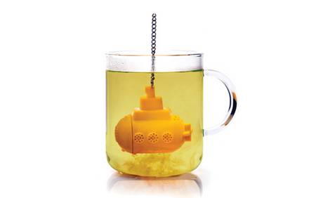 Yellow Submarine Tea Bag for Your Morning Tea Break