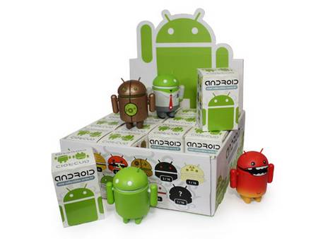 Google Android mini action figures set