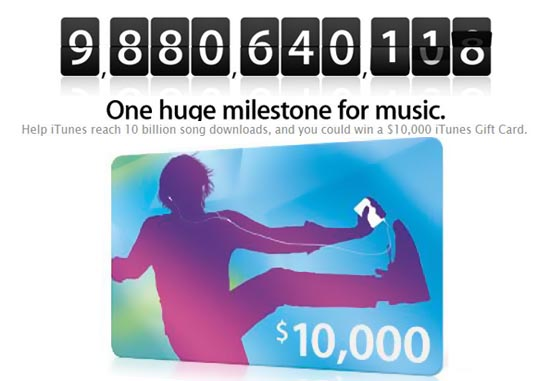 Apple iTunes Gift Card costs $10,000 for the lucky fellow