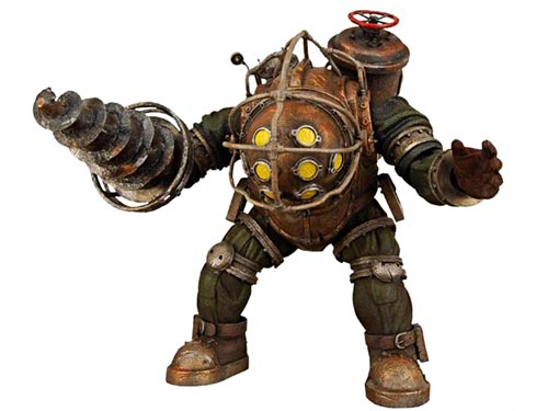 bioshock2 big daddy action figure