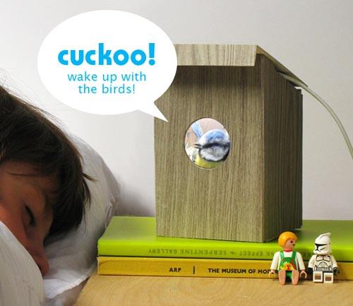 BirdBox wakes up you via a virtual bird