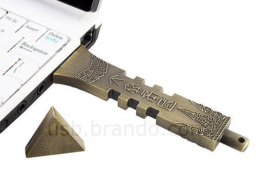 Chinese ancient bronze sword USB flash drive