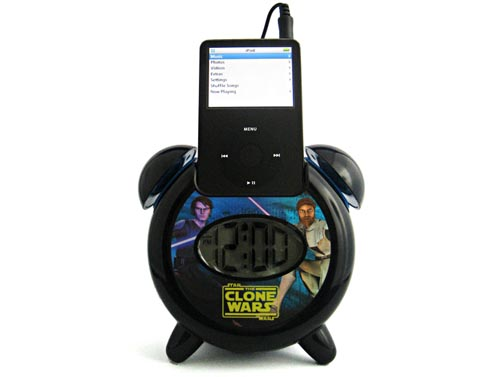 Star Wars alarm clock doubles as a speaker