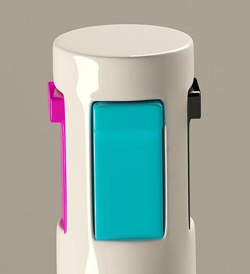 CMYK pen concept for designers