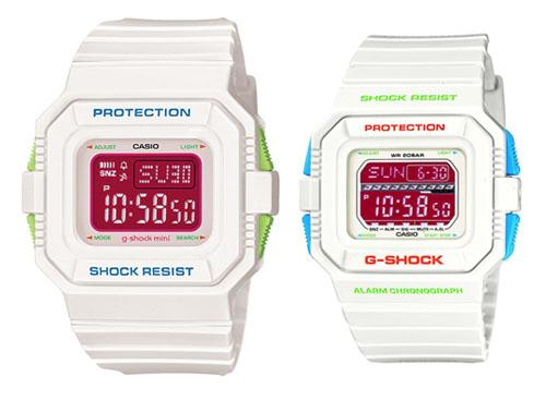 G-Shock Precious White Valentines Day Watches
