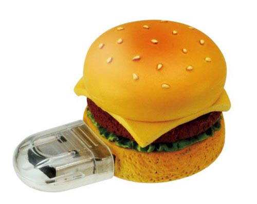 hamburger usb flash drive