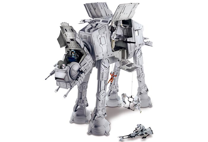 Hasbro has unveiled the latest Star Wars AT-AT Imperial Walker huge model at