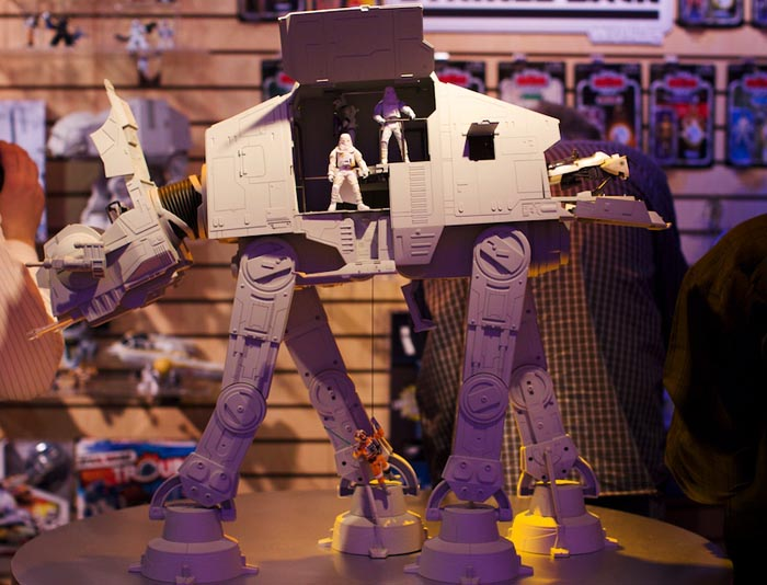 Hasbro highly detailed Star Wars AT-AT model