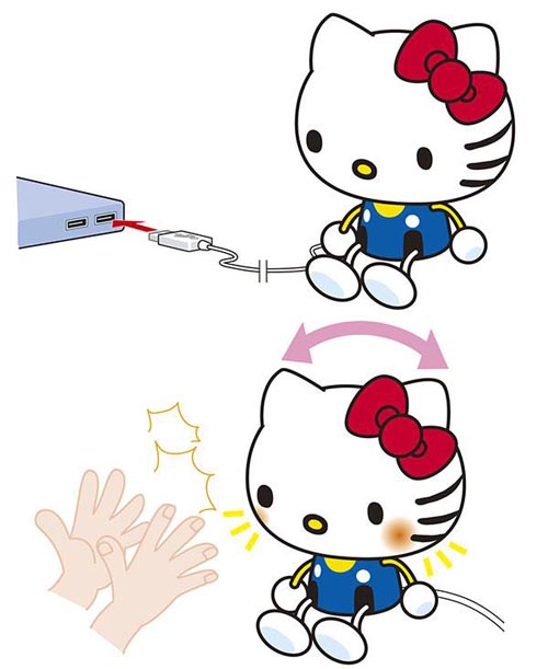Hello Kitty USB PC Companion