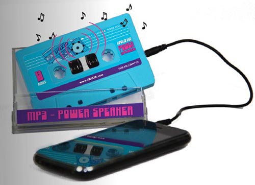 IMIXID Power Speaker just like cassette tape