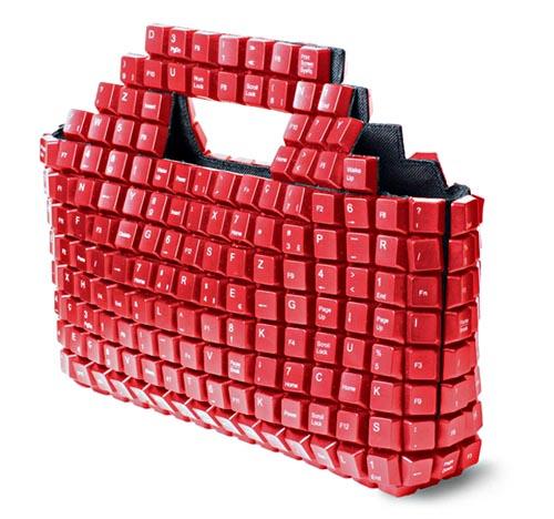 keybag handbag for geek girlfriend