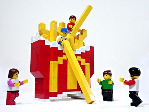 LEGO McDonald BigMac