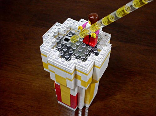 McDonald BigMac in LEGO fans eyes