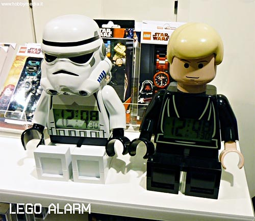 LEGO Star Wars Minifig alarm clocks unveiled