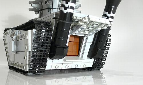 LEGO Steampunk Napoleonic era heavy transporter