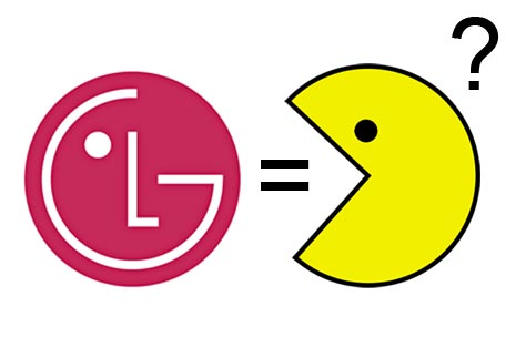 Pac-Man evoled from LG