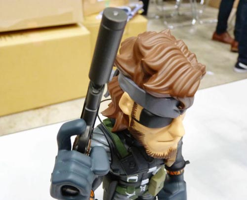 Metal Gear Solid 3 Snake Vinyl Toy