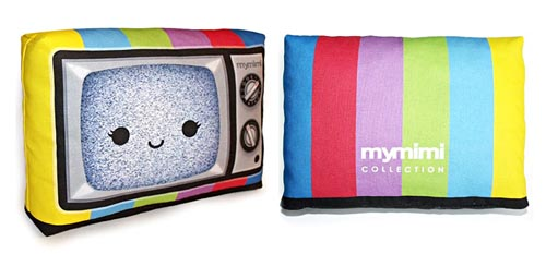 mini tv pillow
