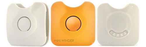 miniWINDER protects your precious earphones