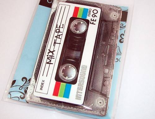 80's Retro Mix Cassette Tape Gadget Case not only for iPhone