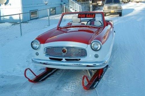 Outstanding Nash Metropolitan without wheels