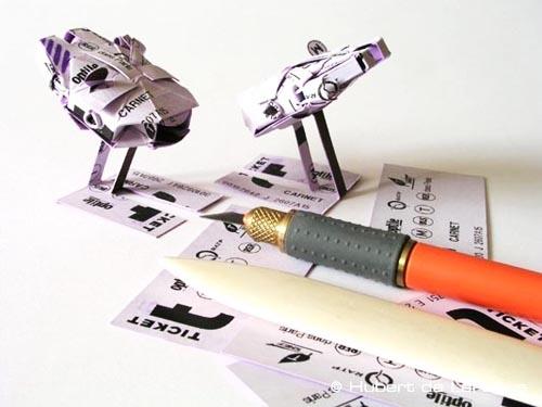 subway tickets Origami Star Wars Artifacts