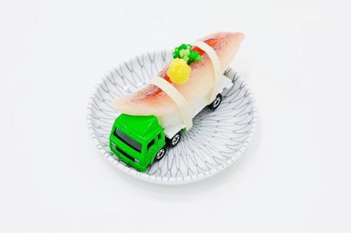 Tommy Sushi, a toy truck by Paramodel