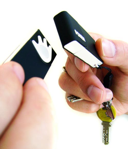 Poken incredible USB business card