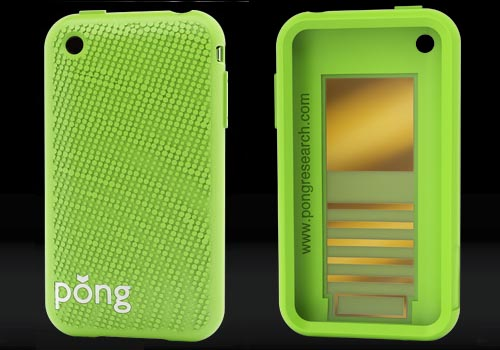 Pong iPhone case protects your health and your cell phone